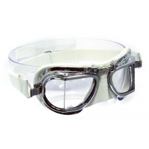 Mark 49 Leather Compact goggles - White