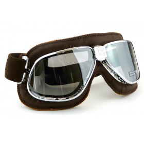 Nannini Cruiser Chrome Brown Goggle