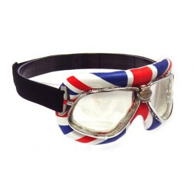 Nannini Cruiser Motorcycle Goggles - Union Jack