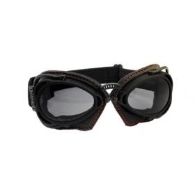 Nannini Hot Rod Motorcycle Goggles - Black