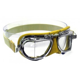 Mark 49 Leather Compact goggles - Tan