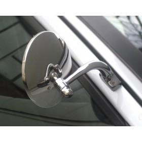 746 Universal Halcyon Door Mirror - Round