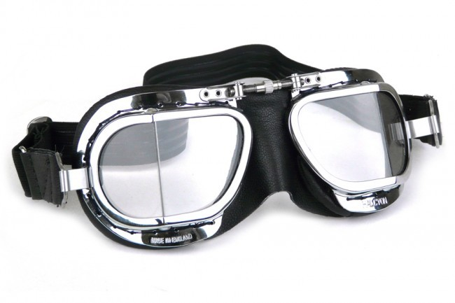 Mark 9 Compact Deluxe Goggles - Black