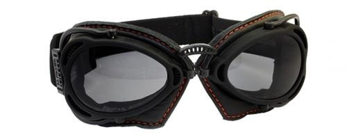 Nannini Hot Rod Motorcycle Goggles