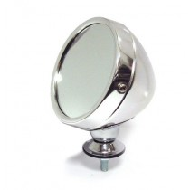 Omnico 319SF Polished Alloy Grand Prix-style Exterior Mirror