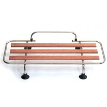 Classic Car Luggage Rack - alloy & wood slats