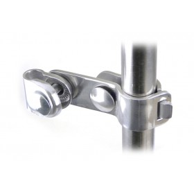 Halcyon 966 Scooter Bar Clamp Bracket Straight - Stainless Steel