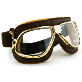 Nannini Cruiser Gold Brown Goggle