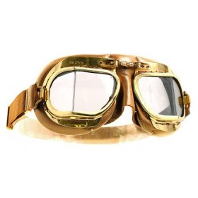Mark 49 Leather Compact goggles - Antique Tan