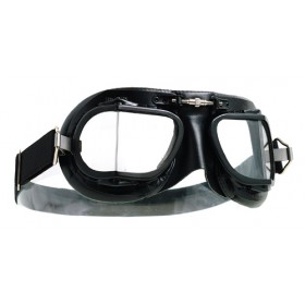Mark 49 All Black Goggles - Leather