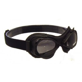 Nannini Streetfighter Motorcycle Goggle - Black