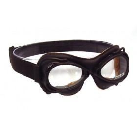 Nannini Streetfighter Motorcycle Goggle - Brown