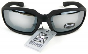 Chopper X sunglasses- Silver mirror