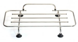 Classic Car Luggage Rack - Stainless Steel