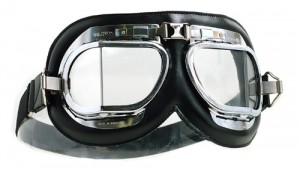 Mark 4 Silver Cross Goggles