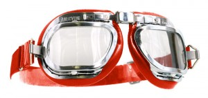 Mark 46 Goggles - Red