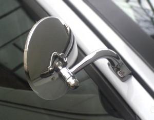 Universal Halcyon Door Mirrors - Round